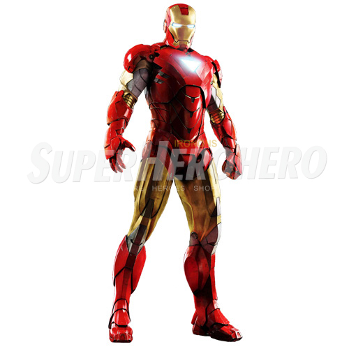 Designs Iron Man Iron on Transfers (Wall & Car Stickers) No.4587